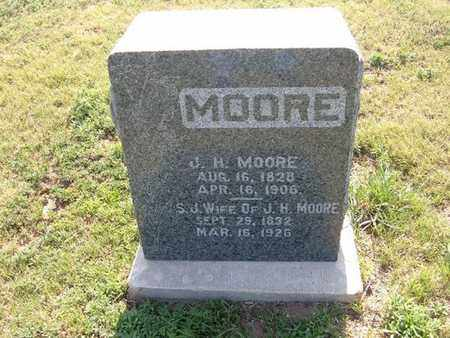 PETERSON MOORE, SARAH JANE - Haskell County, Kansas | SARAH JANE PETERSON MOORE - Kansas Gravestone Photos