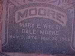 MOORE, MARY E - Haskell County, Kansas | MARY E MOORE - Kansas Gravestone Photos
