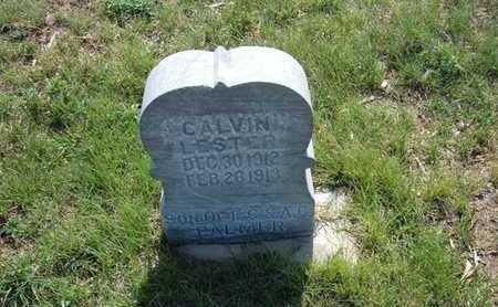PALMER, CALVIN LESTER - Haskell County, Kansas   CALVIN LESTER PALMER - Kansas Gravestone Photos