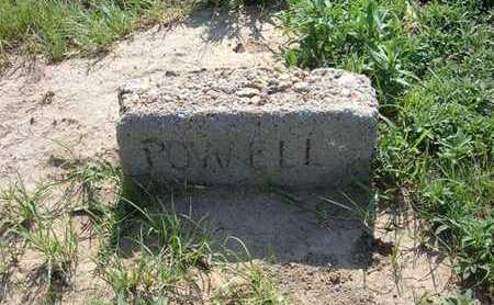 POWELL, INFANT - Haskell County, Kansas | INFANT POWELL - Kansas Gravestone Photos
