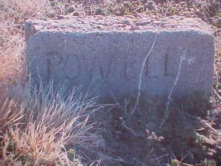 POWELL, LITTLETON T - Haskell County, Kansas   LITTLETON T POWELL - Kansas Gravestone Photos
