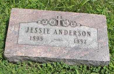 ANDERSON, JESSIE - Jackson County, Kansas | JESSIE ANDERSON - Kansas Gravestone Photos