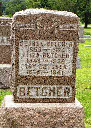 BETCHER, ROY - Jackson County, Kansas | ROY BETCHER - Kansas Gravestone Photos