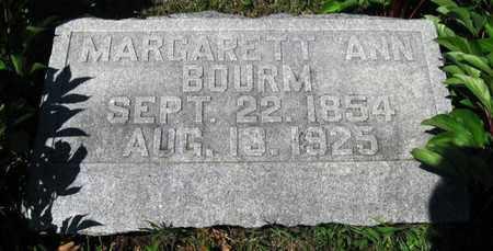 BOURM, MARGARET ANN - Jackson County, Kansas | MARGARET ANN BOURM - Kansas Gravestone Photos