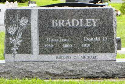 BRADLEY, DONALD DEAN - Jackson County, Kansas | DONALD DEAN BRADLEY - Kansas Gravestone Photos