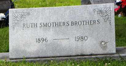 SMOTHERS BROTHERS, RUTH - Jackson County, Kansas | RUTH SMOTHERS BROTHERS - Kansas Gravestone Photos
