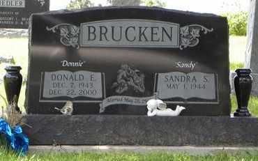 BRUCKEN, SANDRA S - Jackson County, Kansas | SANDRA S BRUCKEN - Kansas Gravestone Photos