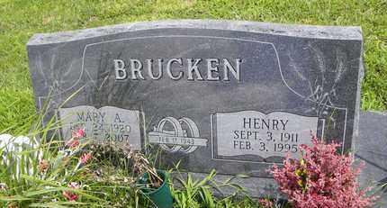 HERMESCH BRUCKEN, MARY A - Jackson County, Kansas | MARY A HERMESCH BRUCKEN - Kansas Gravestone Photos