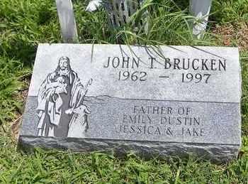 BRUCKEN, JOHN THOMAS - Jackson County, Kansas | JOHN THOMAS BRUCKEN - Kansas Gravestone Photos