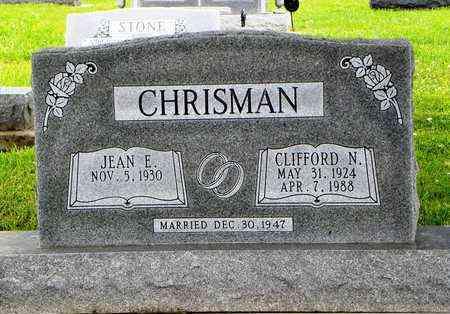 CHRISMAN, CLIFFORD N - Jackson County, Kansas   CLIFFORD N CHRISMAN - Kansas Gravestone Photos