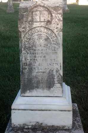KNIGHT FESLER, REBECCA - Jackson County, Kansas | REBECCA KNIGHT FESLER - Kansas Gravestone Photos