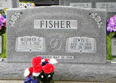 FISHER, MILDRED G - Jackson County, Kansas | MILDRED G FISHER - Kansas Gravestone Photos