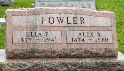 FOWLER, ALEX B - Jackson County, Kansas | ALEX B FOWLER - Kansas Gravestone Photos