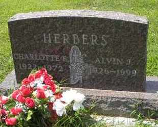 HERBERS, CHARLOTTE EARLINE - Jackson County, Kansas | CHARLOTTE EARLINE HERBERS - Kansas Gravestone Photos