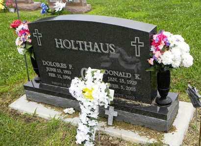 FELDKAMP HOLTHAUS, DOLORES FRANCES - Jackson County, Kansas | DOLORES FRANCES FELDKAMP HOLTHAUS - Kansas Gravestone Photos