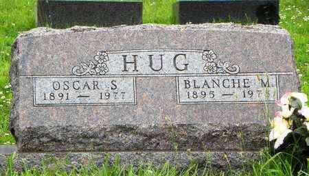 HUG, BLANCHE M - Jackson County, Kansas | BLANCHE M HUG - Kansas Gravestone Photos