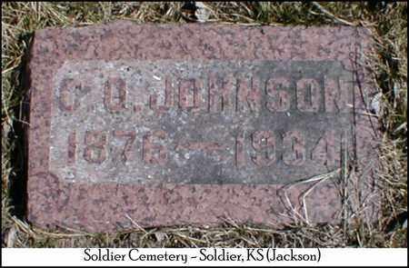 JOHNSON, CLINTON O - Jackson County, Kansas   CLINTON O JOHNSON - Kansas Gravestone Photos