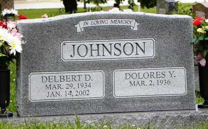 JOHNSON, DELBERT DEAN - Jackson County, Kansas | DELBERT DEAN JOHNSON - Kansas Gravestone Photos