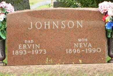 JOHNSON, NEVA - Jackson County, Kansas | NEVA JOHNSON - Kansas Gravestone Photos