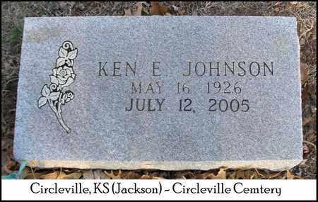 JOHNSON, KENNETH EUGENE - Jackson County, Kansas | KENNETH EUGENE JOHNSON - Kansas Gravestone Photos