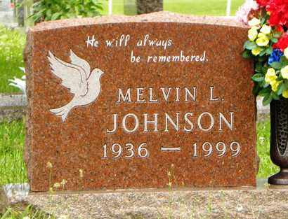 JOHNSON, MELVIN LEROY - Jackson County, Kansas | MELVIN LEROY JOHNSON - Kansas Gravestone Photos