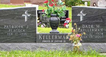 KELLERMAN, DALE MARVIN - Jackson County, Kansas   DALE MARVIN KELLERMAN - Kansas Gravestone Photos