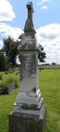 HARRISON KENNEDY, MARY ELLEN - Jackson County, Kansas | MARY ELLEN HARRISON KENNEDY - Kansas Gravestone Photos