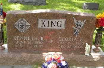 KING, GLORIA ELIZABETH - Jackson County, Kansas   GLORIA ELIZABETH KING - Kansas Gravestone Photos