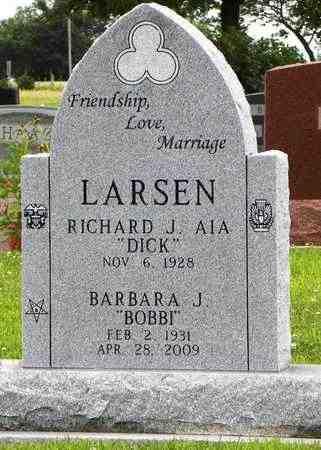 WEIDEMIER LARSEN, BARBARA J - Jackson County, Kansas   BARBARA J WEIDEMIER LARSEN - Kansas Gravestone Photos