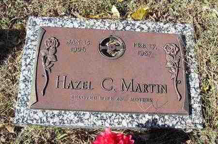 MARTIN, HAZEL C - Jackson County, Kansas | HAZEL C MARTIN - Kansas Gravestone Photos