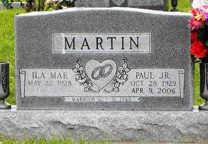 MARTIN, PAUL JR - Jackson County, Kansas | PAUL JR MARTIN - Kansas Gravestone Photos