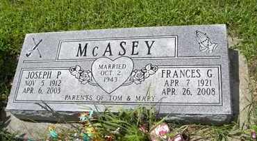 MCASEY, JOSEPH P - Jackson County, Kansas | JOSEPH P MCASEY - Kansas Gravestone Photos