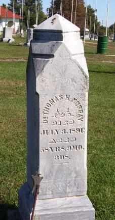 MURRAY, THOMAS HARVEY  (VETERAN UNION) - Jackson County, Kansas | THOMAS HARVEY  (VETERAN UNION) MURRAY - Kansas Gravestone Photos