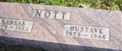 NOTT, KANSAS ELIZABETH - Jackson County, Kansas | KANSAS ELIZABETH NOTT - Kansas Gravestone Photos
