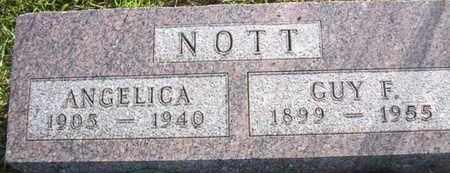 NOTT, GUY F - Jackson County, Kansas | GUY F NOTT - Kansas Gravestone Photos