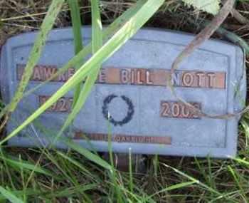 NOTT, LAWRENCE BILL - Jackson County, Kansas | LAWRENCE BILL NOTT - Kansas Gravestone Photos