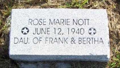 NOTT, ROSE MARIE - Jackson County, Kansas | ROSE MARIE NOTT - Kansas Gravestone Photos