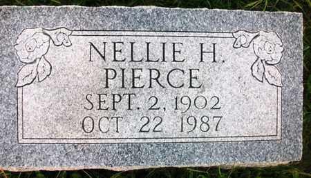 PIERCE, NELLIE H - Jackson County, Kansas | NELLIE H PIERCE - Kansas Gravestone Photos