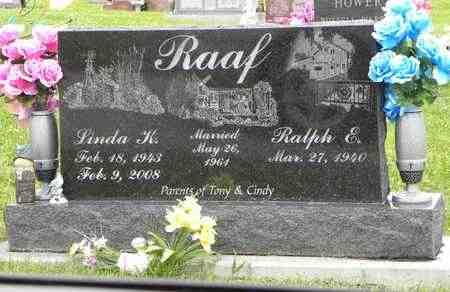 BENTLEY RAAF, LINDA KAY - Jackson County, Kansas   LINDA KAY BENTLEY RAAF - Kansas Gravestone Photos