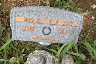 SADOWSKI, BRYAN J - Jackson County, Kansas | BRYAN J SADOWSKI - Kansas Gravestone Photos