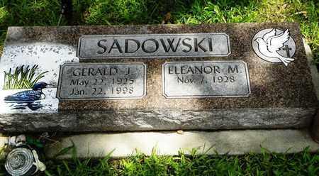 SADOWSKI, GERALD J - Jackson County, Kansas   GERALD J SADOWSKI - Kansas Gravestone Photos