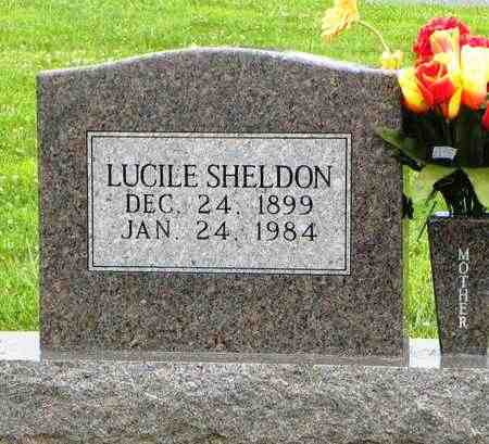 SHELDON, LUCILE - Jackson County, Kansas | LUCILE SHELDON - Kansas Gravestone Photos