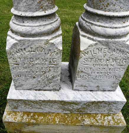 STROHWIG (CLOSE), WILHELMINE - Jackson County, Kansas   WILHELMINE STROHWIG (CLOSE) - Kansas Gravestone Photos