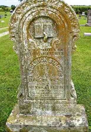 STROWIG, FREDERICK - Jackson County, Kansas | FREDERICK STROWIG - Kansas Gravestone Photos