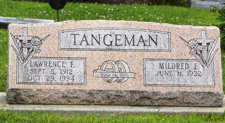 TANGEMAN, MILDRED E - Jackson County, Kansas | MILDRED E TANGEMAN - Kansas Gravestone Photos