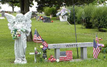 WHITE, MARLIN A F - Jackson County, Kansas | MARLIN A F WHITE - Kansas Gravestone Photos