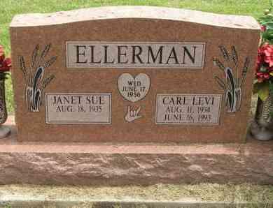ELLERMAN, CARL LEVI - Jefferson County, Kansas | CARL LEVI ELLERMAN - Kansas Gravestone Photos