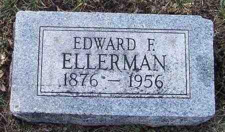 ELLERMAN, EDWARD F - Jefferson County, Kansas | EDWARD F ELLERMAN - Kansas Gravestone Photos