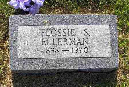 ELLERMAN, FLOSSIE S - Jefferson County, Kansas | FLOSSIE S ELLERMAN - Kansas Gravestone Photos