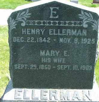 ELLERMAN, MARY E - Jefferson County, Kansas | MARY E ELLERMAN - Kansas Gravestone Photos